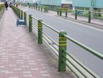 防護柵塗装工事
